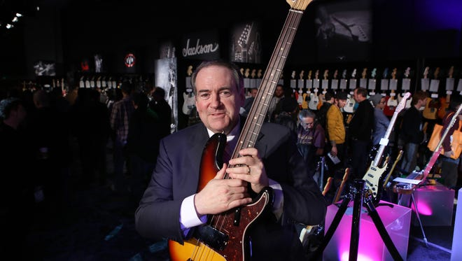 Former Arkansas gov. Mike Huckabee is passionate about politics and music.