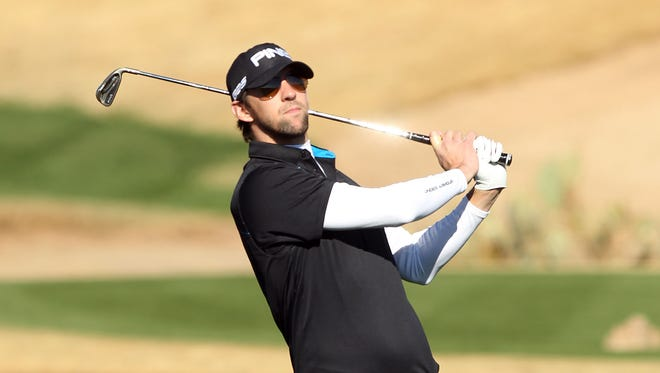 Michael Phelps called his experience in the pro-am on Wednesday humbling.