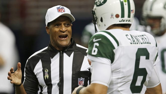 The Jets didn't reach Super Bowl XLVII, but referee Jerome Boger did.
