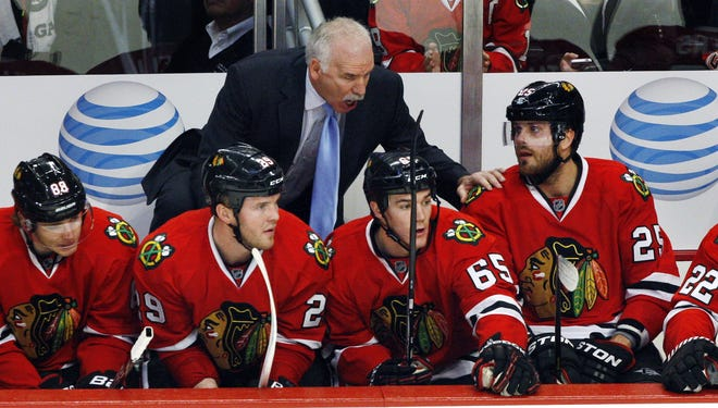 Coach Joel Quenneville and the Chicago Blackhawks are off to a 6-0 start.