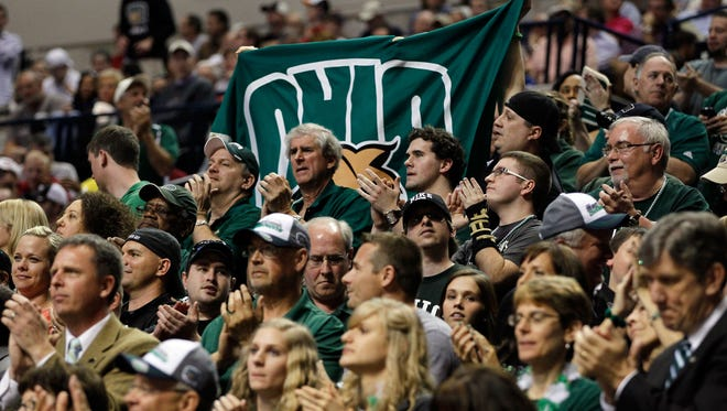 Fans of Ohio University basketball will have to wait to see their team in action against Eastern Michigan after campus was closed Wednesday afternoon in the wake of reports of a gunman at large.