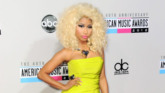 Despite having a big year in music, Nicki Minaj didn't receive any Grammy nominations.