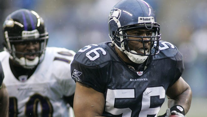 Leroy Hill has played for the Seahawks since 2005.