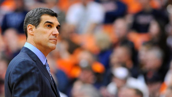 Villanova coach Jay Wright wants to see how his team handles playing with a target on its back.