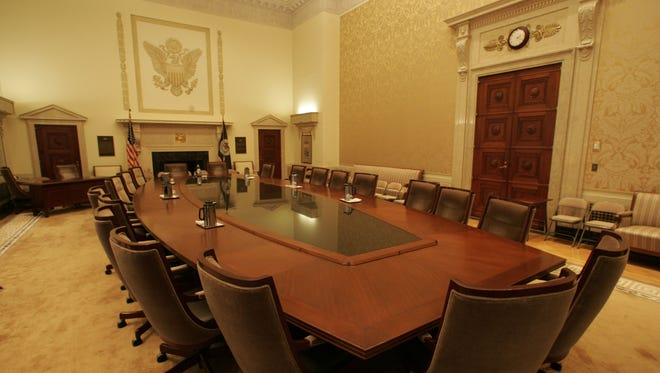 The board room at the Federal Reserve. File.