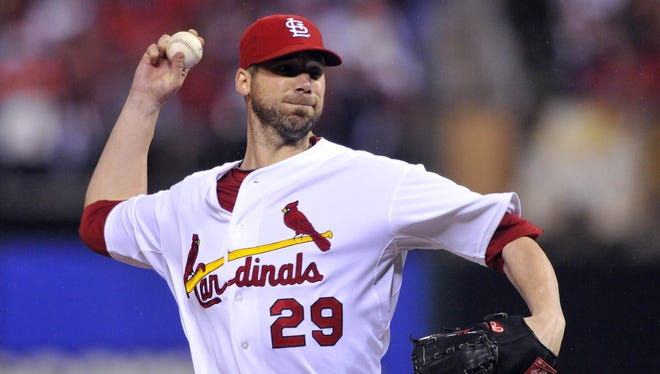 Chris Carpenter missed most of last season with a neck injury and was 0-2.