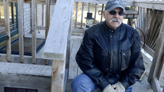 Greg Hays of Brandon, S.D., was diagnosed with hepatitis C after a blood test in 2011. He believes he contracted it from a blood transfusion following a motorcycle accident in the 60's.