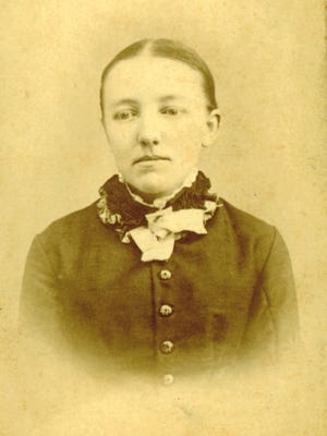 Mary Ingalls during her years in Vinton, Iowa.