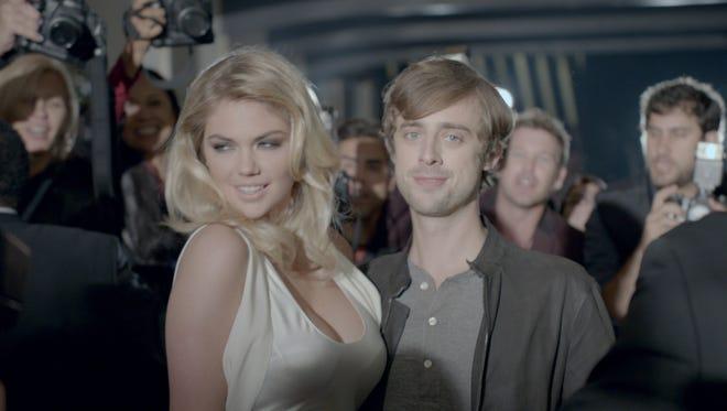 Kate Upton stars in Mercedes' Super Bowl ad.