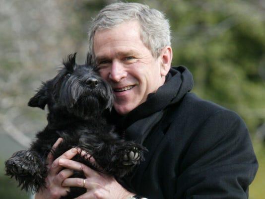 Former White House Dog Barney Dies