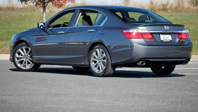 2013 Honda Accord drove sales