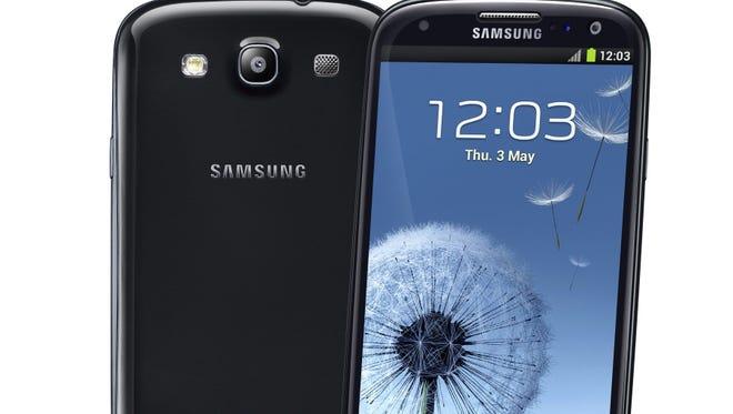 Samsung's Galaxy S III.