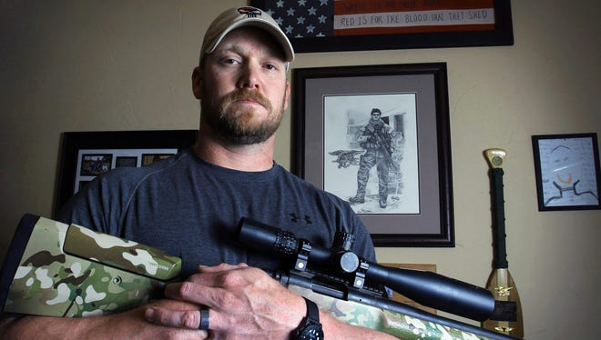 Chris Kyle was a former Navy SEAL and author of the book 'American Sniper.'