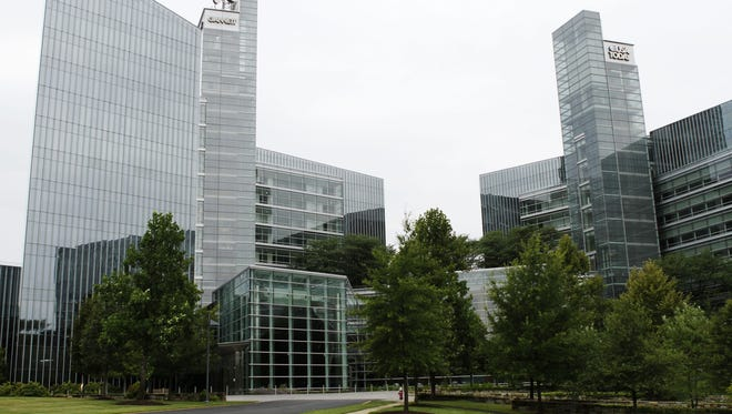 Gannett and USA TODAY headquarters in McLean, Va.