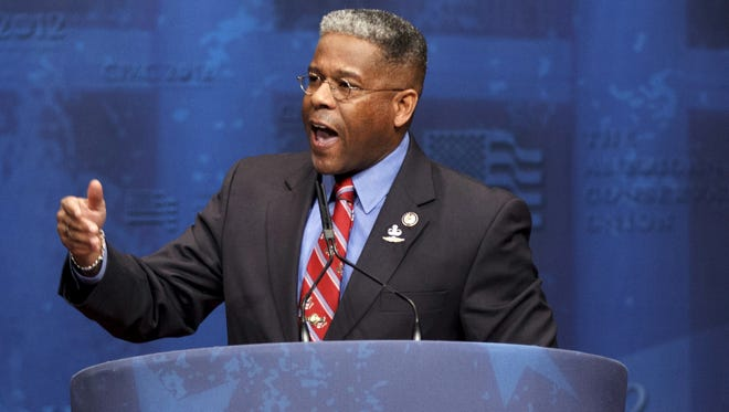 Florida Republican Allen West spent more than $17 million in his unsuccessful bid for a second House term.