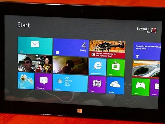 Surface Pro tablet from Microsoft