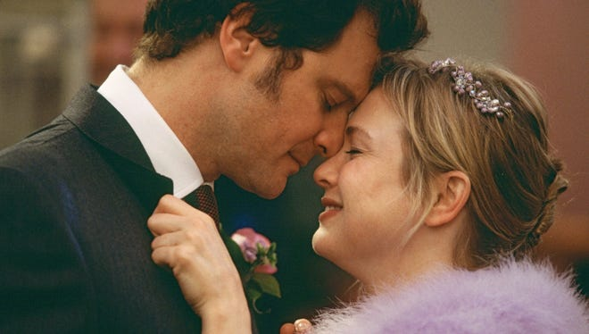 Colin Firth and Rene Zellweger starred in the film adaptation of Bridget Jones's Diary.