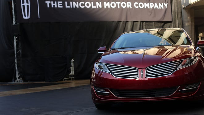 Ford manufactures its luxury Lincoln MKZ at its assembly plant in Hermosillo, Sonora in Mexico.