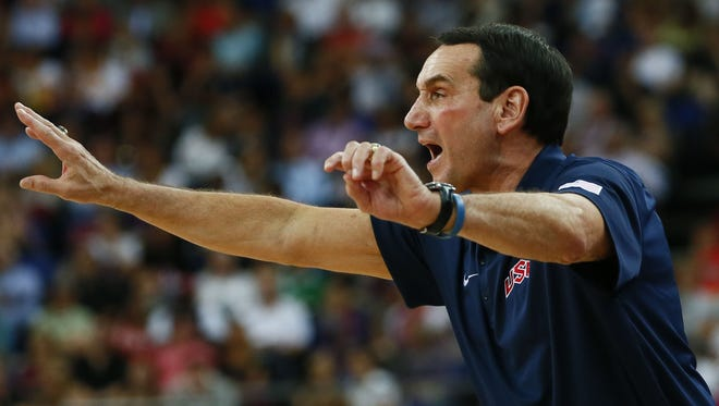 The gold medal game against Spain in London in August was thought to be the last Olympic game in which Mike Krzyzewski would coach. But there has been speculation that he might return in 2016.