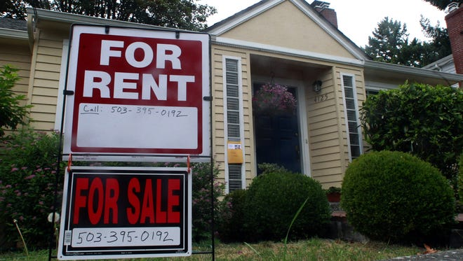A house is for rent or for sale in Portland, Ore.