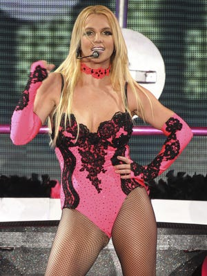 Britney Spears performsin Moscow in 2011.