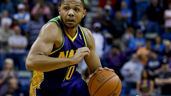 New Orleans Hornets shooting guard Eric Gordon says he's content playing in the Big Easy.