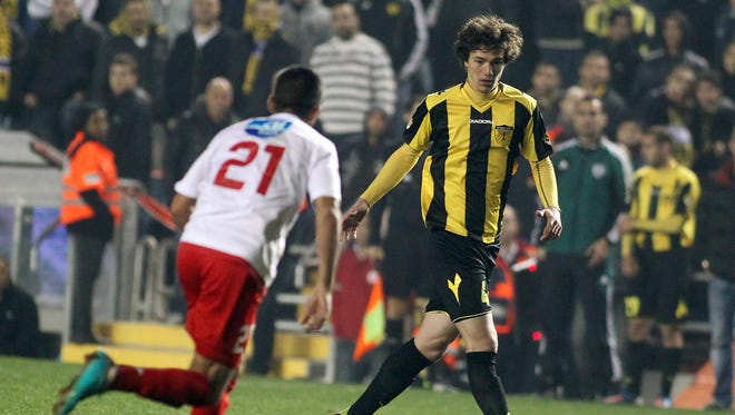 Gabriel Kadiev received a standing ovation when he entered the game in the 80th minute.