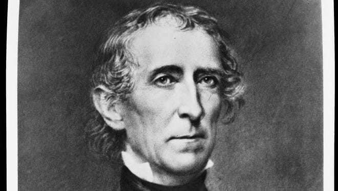 President John Tyler used 10 vetoes to block his own party's bills. The Senate rejected his four Cabinet appointments, still a record.
