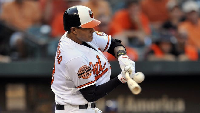 1. Manny Machado, 3B, Orioles