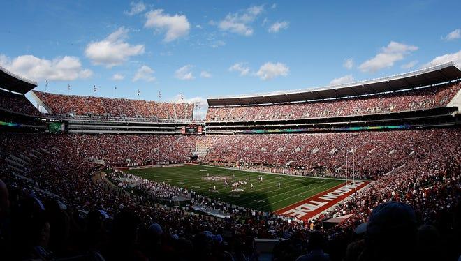 Four Alabama players were arrested.
