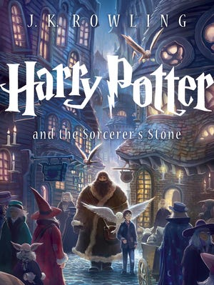 The new jacket art for the paperback edition of 'Harry Potter and the Sorcerer's Stone' was designed by Kazu Kibuishi.