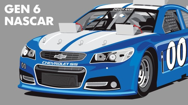 Brand identity has been a goal of NASCAR's to enable fans to immediately spot a Chevrolet, Ford or Toyota during a race.