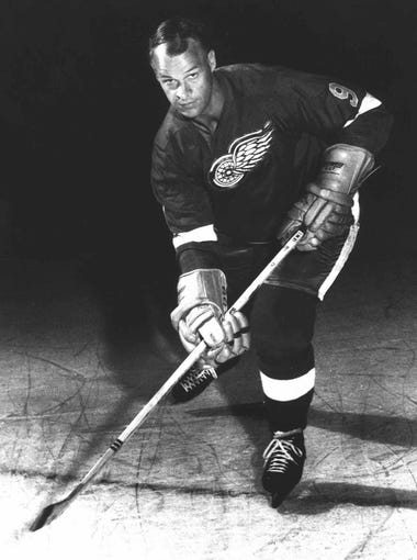 Howe was known for his scoring and his physical play. A Gordie Howe hat trick is a goal, an assist and a fight, though he had only two in his career. Mr. Hockey holds the NHL record for games and was the longtime leader in goals, assists and points until Wayne Gretzky passed him.
