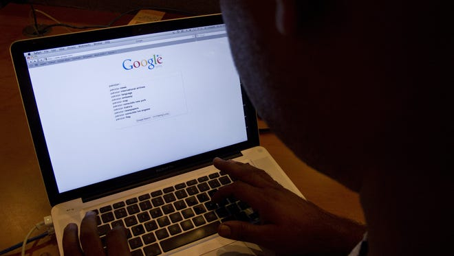 Many people used Google to search for information on hemorrhoids last year.
