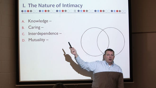Monmouth University Professor Gary Lewandowski became interested in helping students approach love and romance in a scientific fashion, leading to his class called Intimate Relations, which seeks to explain scientifically the nature of true love.