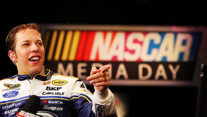 The reigning Sprint Cup champion wants to be authentic with his social media audience.