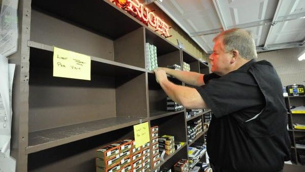 John Martin, owner of Shooter's Depot in Chattanooga, says demand has been so high for ammunition he has had to limit his stock to range members and not allow retail sales.