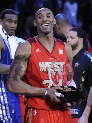 Kobe Bryant won his fourth All-Star Game MVP in 2011.