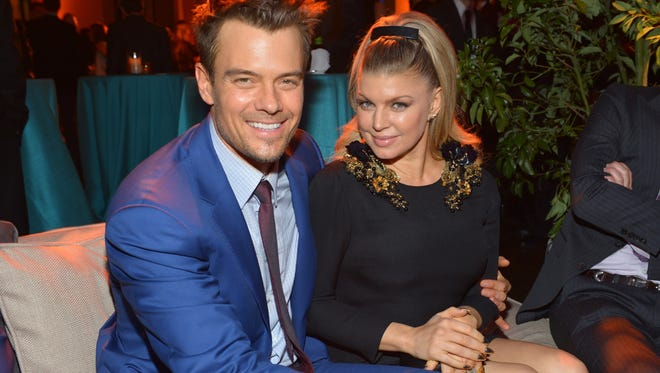 Josh Duhamel and Fergie hit the after-party for the 'Safe Haven' premiere on Feb. 5.