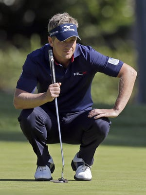 Luke Donald of England has a magnificent short game and can produce the kind of shots that change momentum in a match.