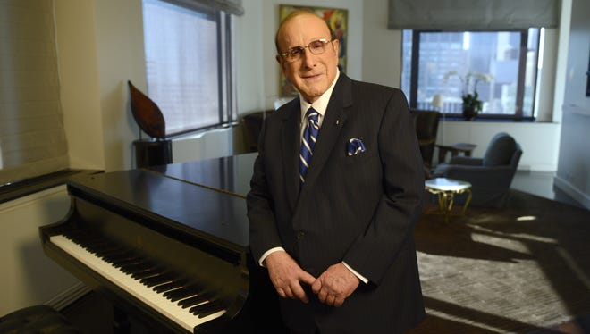 Recording industry legend Clive Davis, in his New York City home, has released a new memoir.