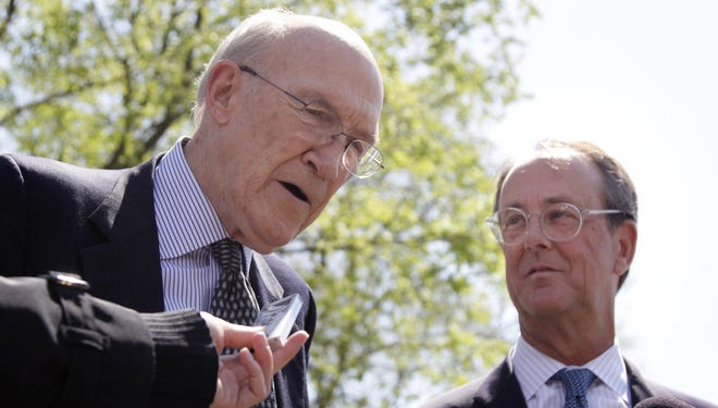 Alan Simpson, left, and Erskine Bowles have put their heads together on avoiding the sequester.