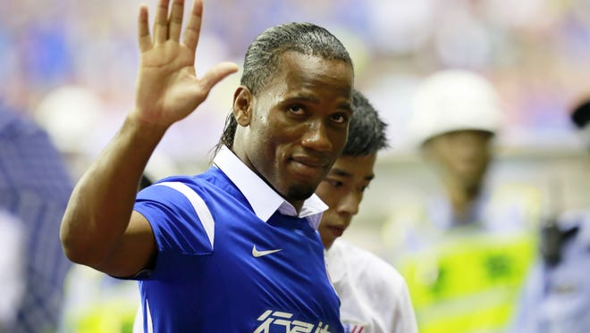 Shanghai Shenhua was briefly the home of star forward Didier Drogba. The club was stripped of its 2003 league title and fined $160,000 to try and stamp out match fixing in the Chinese Super League.