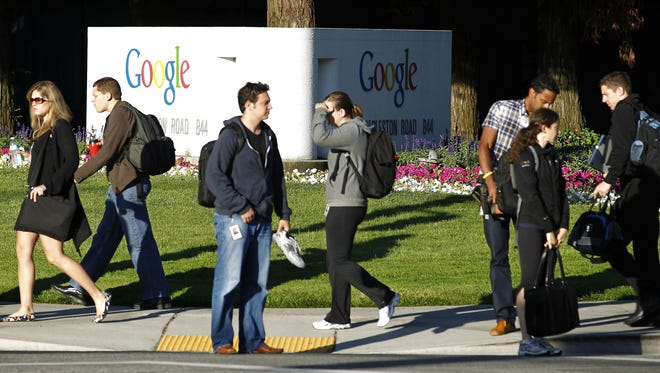 Google ranked #1 on 'Fortune's' latest 100 Best Companies to Work For list.