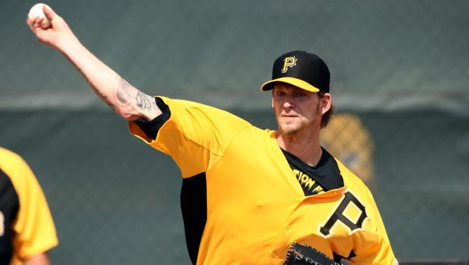 A.J. Burnett will get the call on opening day for the first time in his career on April 1.