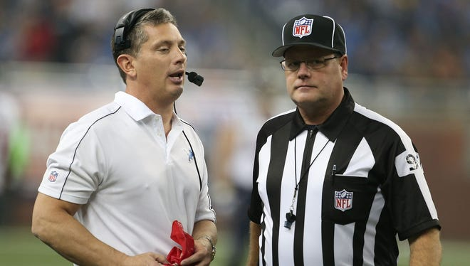 Even if Detroit Lions coach Jim Schwartzt challenges a scoring play, as he did against Houston on Thanksgiving, the NFL wants to get the right call.