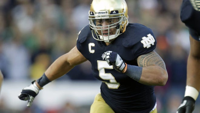 NFL teams will ask Notre Dame linebacker Manti Te'o and other prospects about any problems they've had in the past.