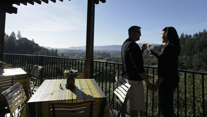 Napa is the happiest U.S. city, according to a new analysis of tweets.