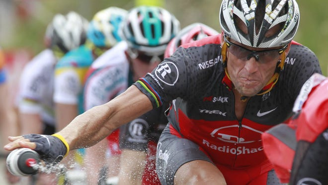 Lance Armstrong, here in a July 2010 race, is facing a Wednesday deadline to cooperate with the U.S. Anti-Doping Agency on what he knows about performance-enhancing drug use in his sport.