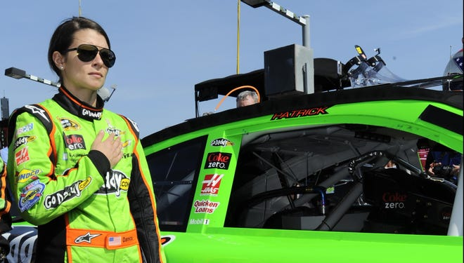 Sunday, Danica Patrick will become the first women in the 54-year history of the Daytona 500 to start from the pole position.